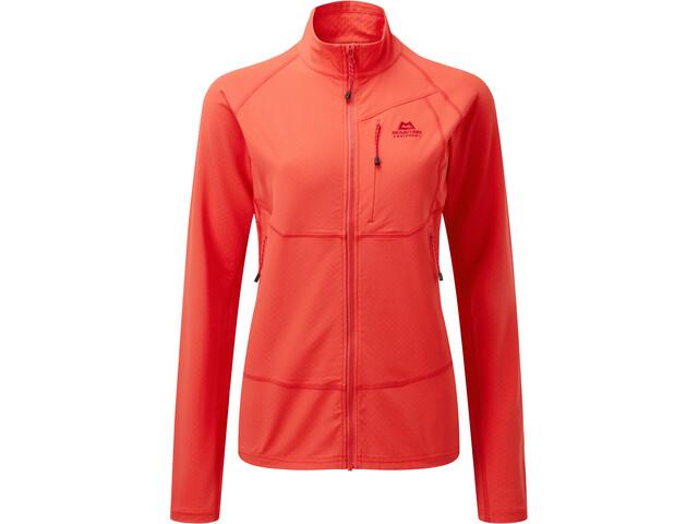 Mountain Equipment Arrow Jacket Women, pop red